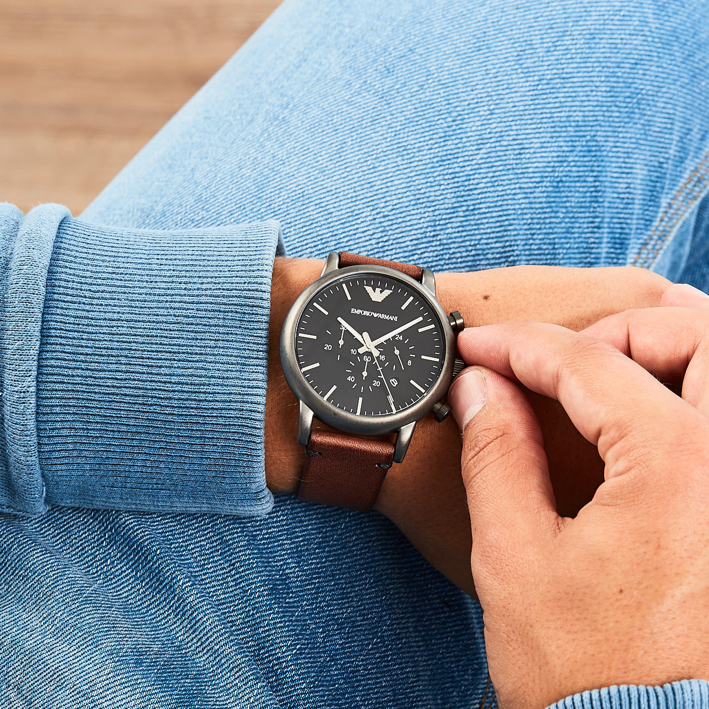 63f87335c1 Emporio Armani AR1919 hodinky - Hodinky