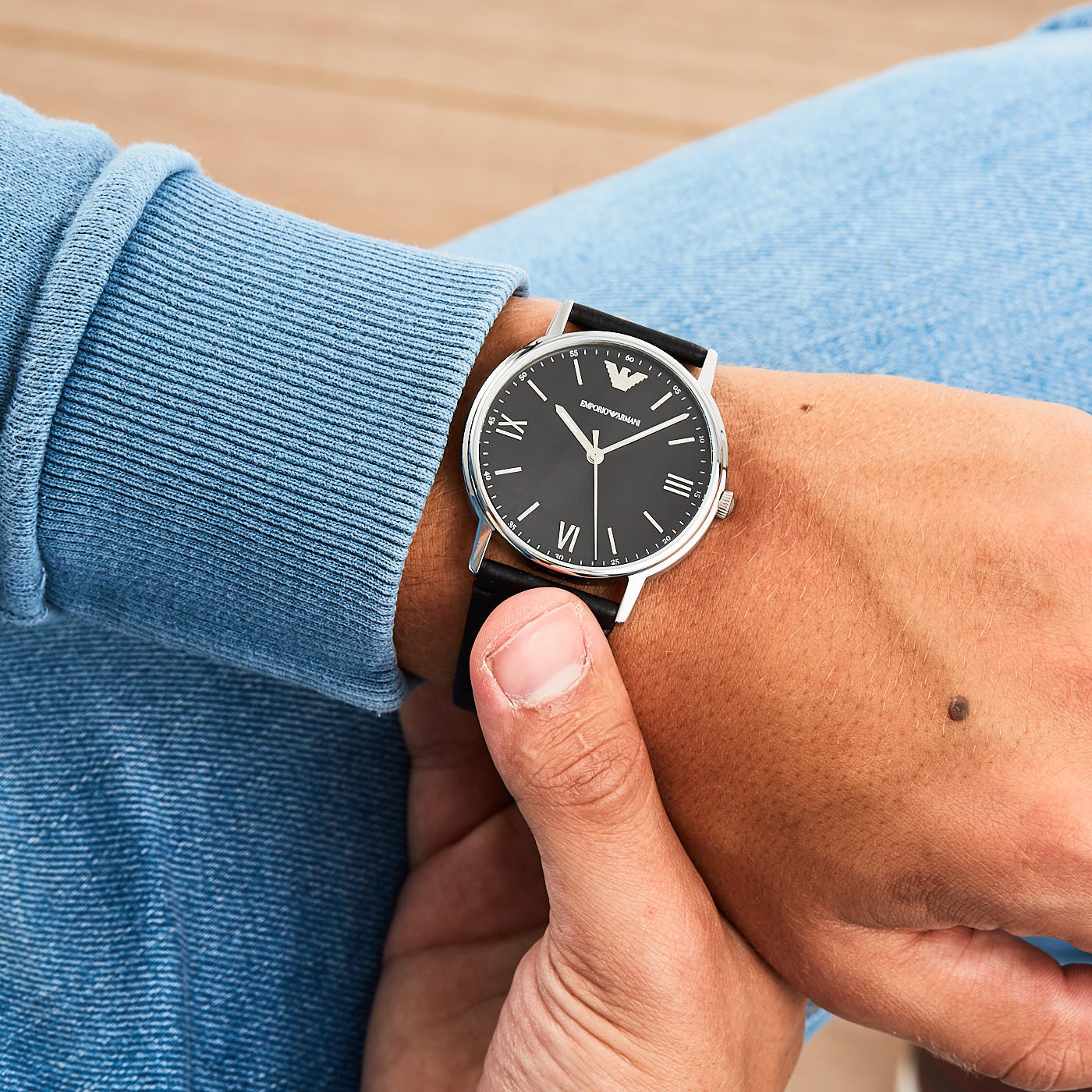 Emporio Armani AR11013 hodinky - Hodinky 9043fc99922