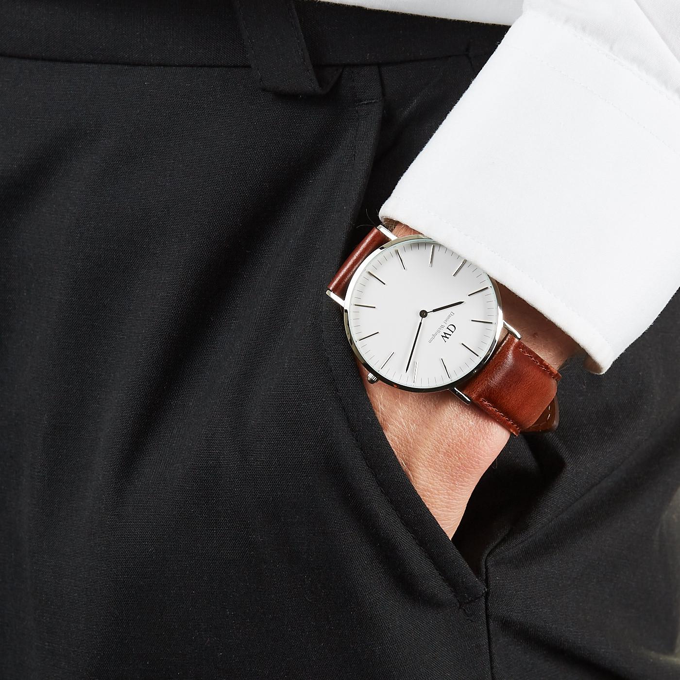 Daniel Wellington Classic DW00100021 hodinky - Hodinky 7e3792880ac