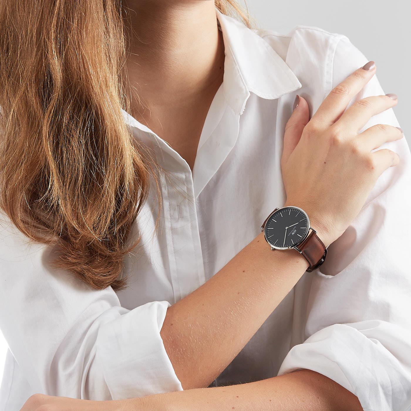 Daniel Wellington Classic Black DW00100131 hodinky - Hodinky 2c6b2ae04c
