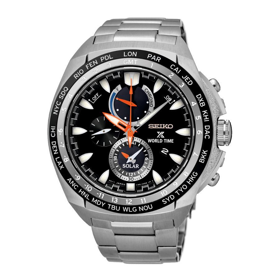 ... Seiko Prospex SSC487P1 hodinky. Seiko Prospex Solar Chrono Worldtimer  horloge SSC487P1 08d8c0a30e