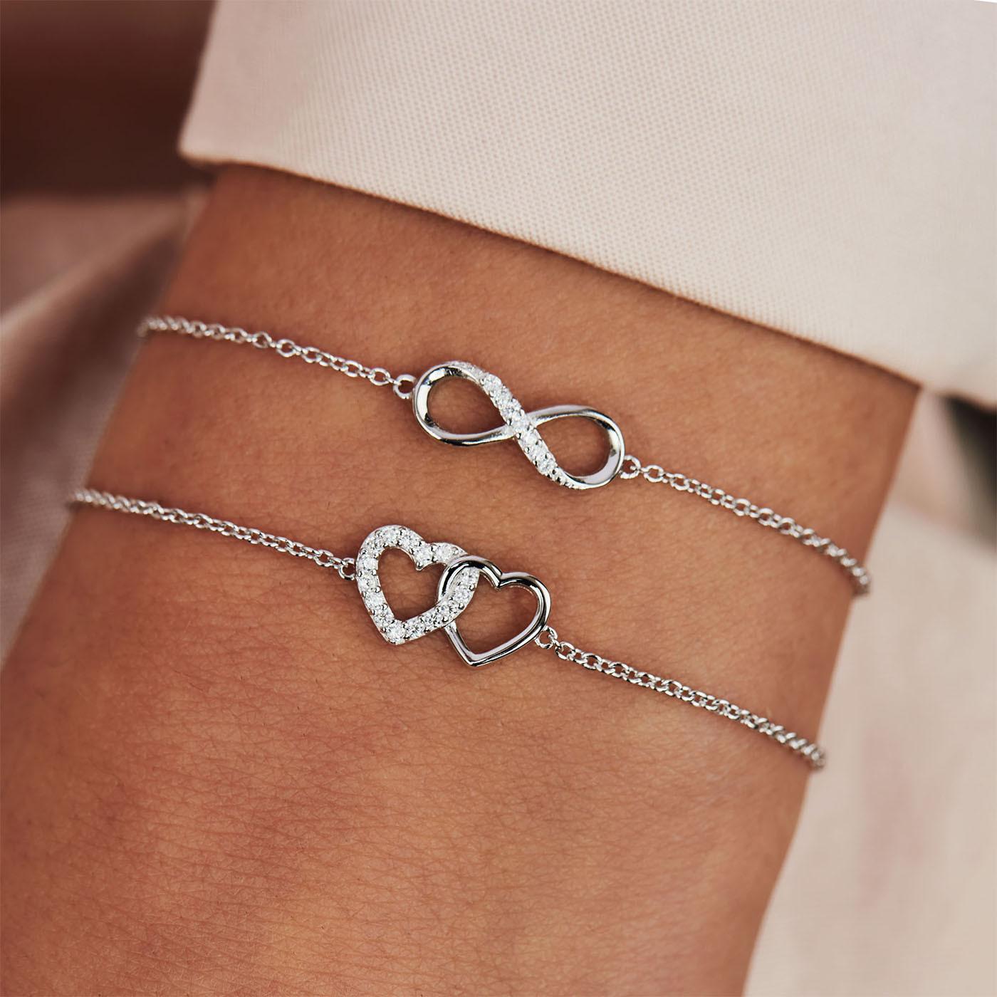 Selected Jewels Julie Emilie 925 sterling zilveren infinity armband SJ1318855