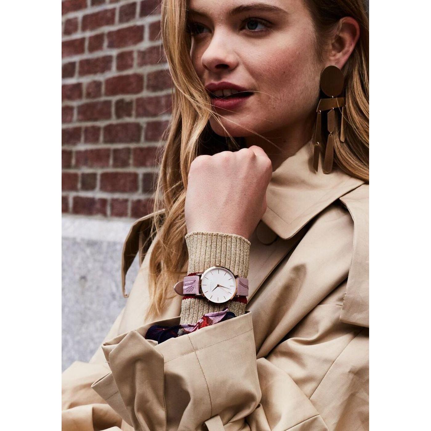 Rosefield City Bloom Blossom horloge CIBLR-E91