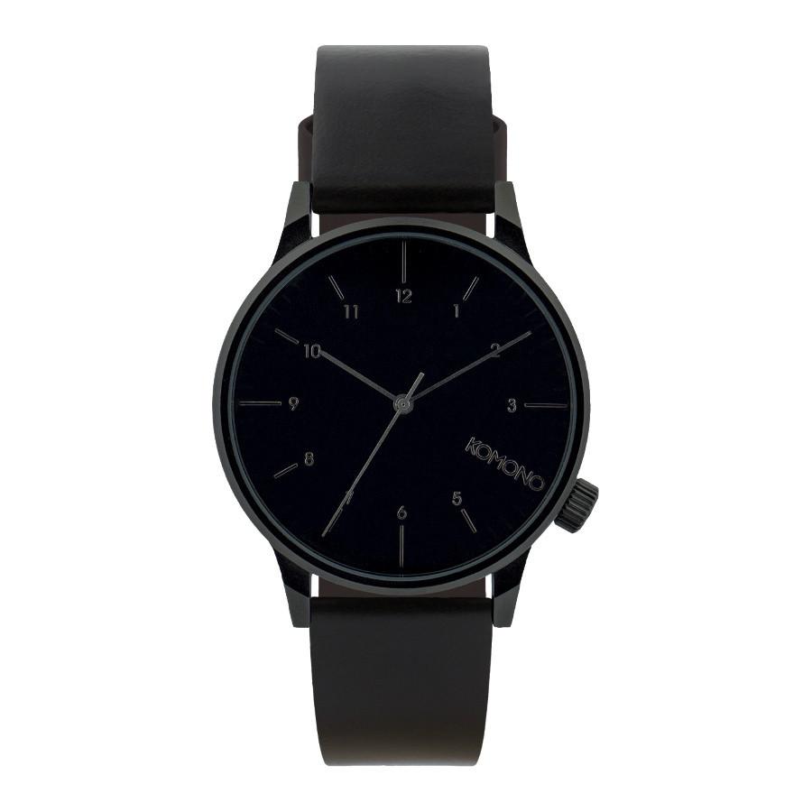 Komono Winston Regal All Black horloge KOM-W2264 ca8fa997d2