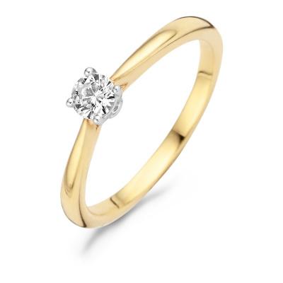 Blush 14 Karaat Gouden Ring 1187BZI