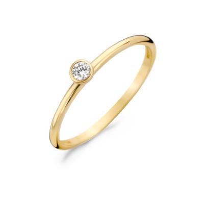 Blush 14 Karaat Gouden Ring 1198YZI
