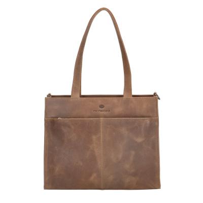 Micmacbags Malmö Brown Shopper 18605006