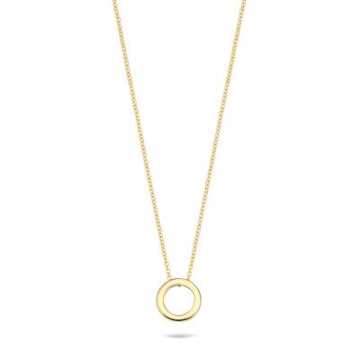 Blush 14 Karaat Gouden Ketting3083YGO (Lengte: 42.00 cm)