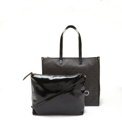 Valentino Bags Prisca Nero Shopper VBS5CV01NERO