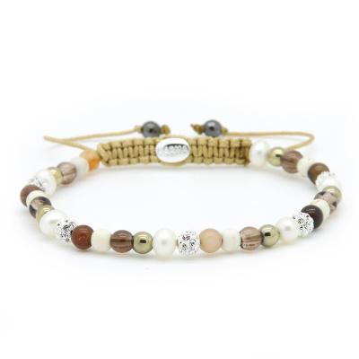 Karma Spiral Sunny Days Armband 84438 (Lengte: 17.50 - 19.00 cm)