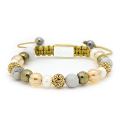 Karma Spiral Mellow Armband 85345 (Lengte: 17.50 - 19.00 cm)