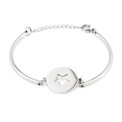 May Sparkle Happiness Linnea Zilverkleurige Armband MS10057