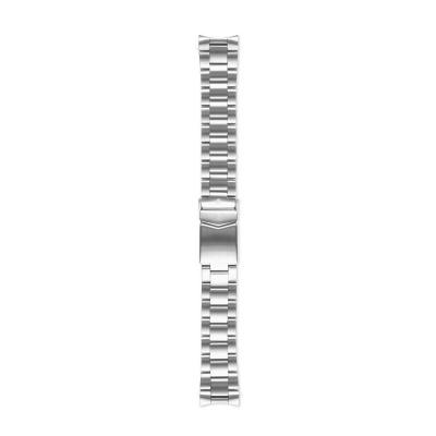 Sem Lewis Lundy Island Diver Strap 20mm Zilverkleurig SL620016