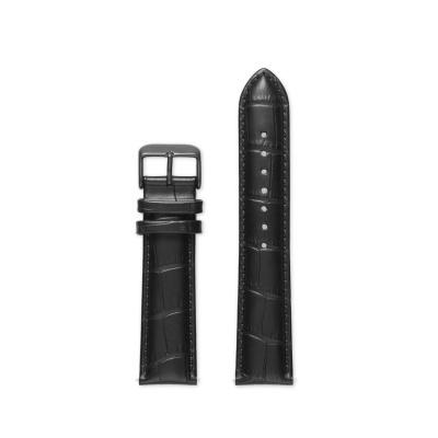 Mats Meier Strap 20mm Croco Zwart MM42001