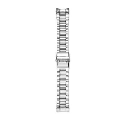 Mats Meier Strap 22mm Zilverkleurig MM43001