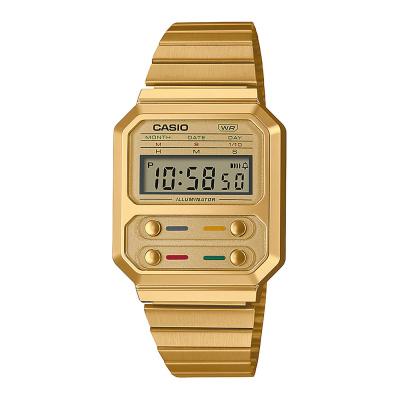 Casio Vintage Edgy horloge A100WEG-9AEF