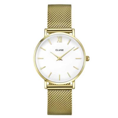 CLUSE Minuit Goudkleurig Horloge CW0101203007