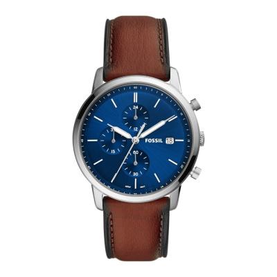 Fossil Minimalist Chrono horloge FS5850