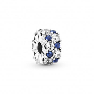 Pandora 925 925 Sterling Zilveren Bedel met Zirkonia en Kristal 799171C01