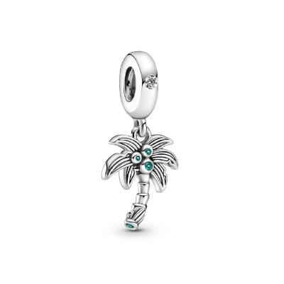 Pandora Passions 925 Sterling Zilveren Palm Tree & Coconuts Bedel 799438C01