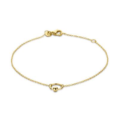 Isabel Bernard Belleville Odette 14 Karaat Gouden Armband IB320047
