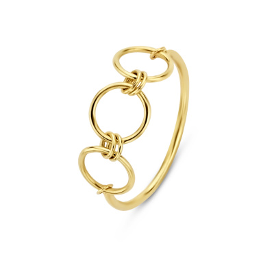 Isabel Bernard 14 Karaat Gouden Belleville Anna Ring IB330019