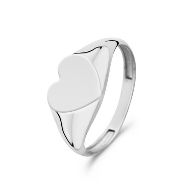 Isabel Bernard Saint Germain Lauren 14 Karaat Witgouden Ring IB330029