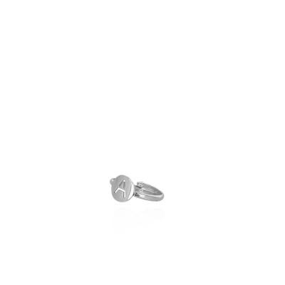LOTT. gioielli 925 Sterling Zilveren Initial ring INRIA-S69502 Letter A-Z