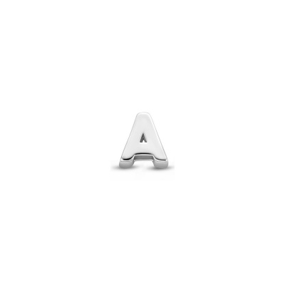 Selected Jewels Julie Céleste 925 sterling zilveren initial enkele oorbel SJ360031