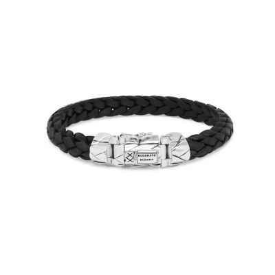 Buddha to Buddha Mangky Small Leather Armband 126BL (Lengte: 19.00-23.00 cm)