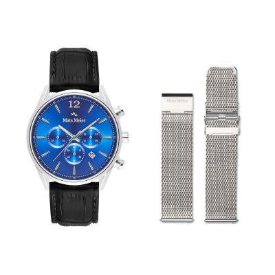 Mats Meier Grand Combin Herenhorloge En Horlogeband Giftset MM90015