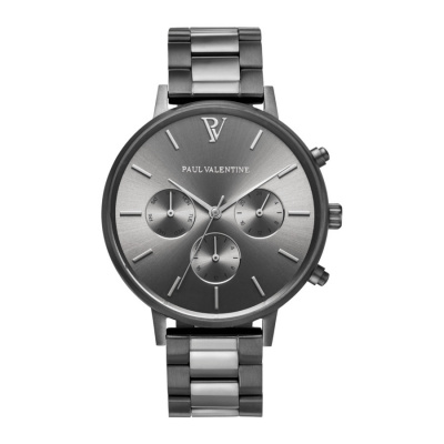 Paul Valentine Graphite Link horloge PVT38191302