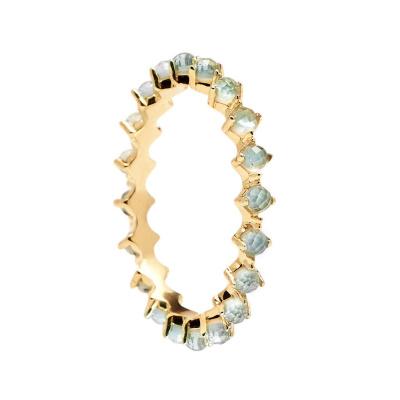P D Paola 925 Sterling Zilveren Citric Mint Bird Ring AN01-140