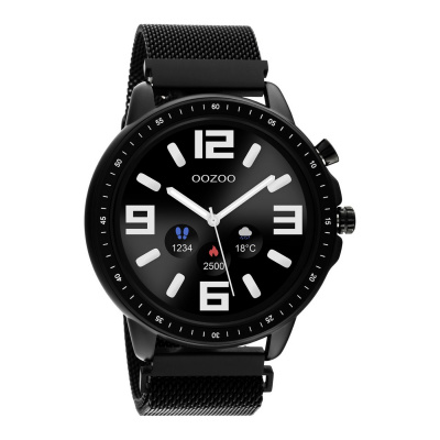 OOZOO Zwart Display Smartwatch Q00309