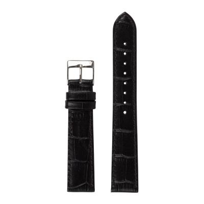 Renard Elite 35.5 Strap 18mm Croco Zwart R18S2CBK