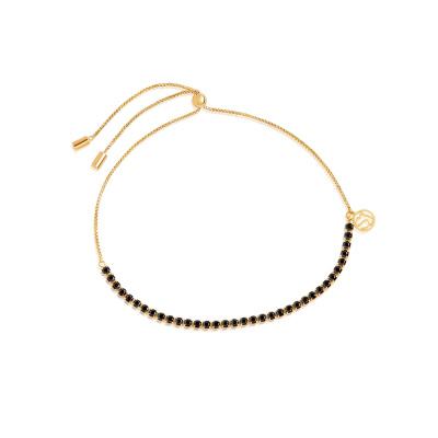 Sif Jakobs Ellera Tennis Armband 18K Gouden Plating SJ-B42032-BK-SG