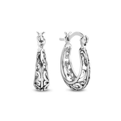 Selected Jewels Léna Claire 925 sterling zilveren creolen SJ0210236