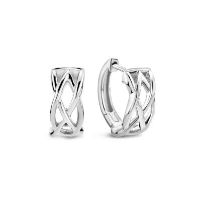 Selected Jewels Emma Vieve 925 Sterling Zilveren Oorhangers SJ360054