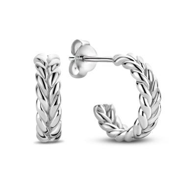 Selected Jewels Léna Claire 925 Sterling Zilveren Creolen SJ360061