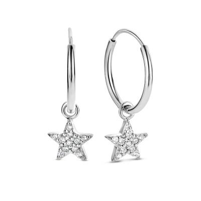 Selected Jewels Julie Esthée 925 Sterling Zilveren Creolen SJ360078
