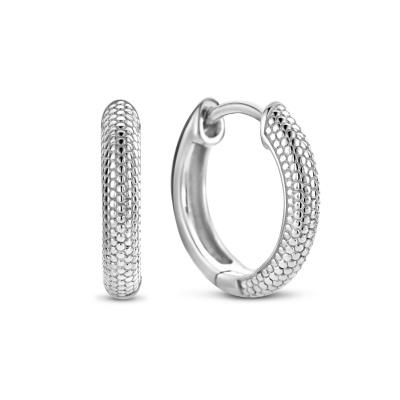 Selected Jewels Léna Claire 925 Sterling Zilveren Creolen SJ360085