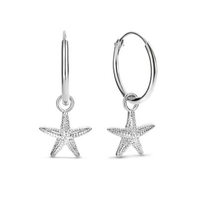 Selected Jewels Julie Macy 925 Sterling Zilveren Creolen SJ360086