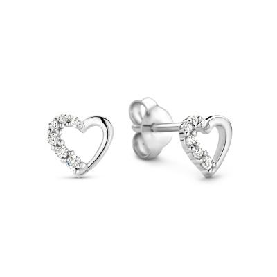 Selected Jewels Aimée 925 Sterling Zilveren Oorknoppen SJ360102