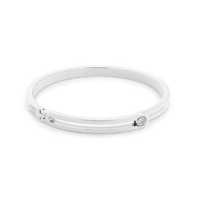 Tommy Hilfiger Zilverkleurige Armband TJ2780532 (Lengte: 19.00 cm)