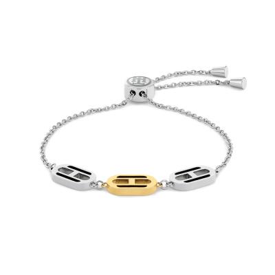 Tommy Hilfiger Tweekleurige Armband TJ2780544 (Lengte: 19.00 cm)