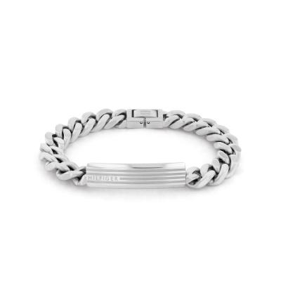 Tommy Hilfiger Zilverkleurige Armband TJ2790345 (Lengte: 21.00 cm)