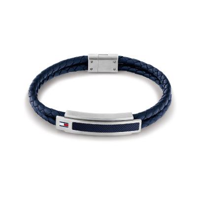 Tommy Hilfiger Blauwe Armband TJ2790356 (Lengte: 21.00 cm)