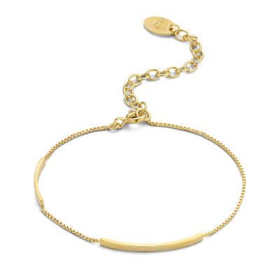 Violet Hamden Sisterhood Moonlit 925 Sterling Zilveren Goudkleurige Armband VH12030