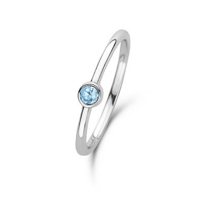Violet Hamden Venus March 925 Sterling Zilveren Ring Met Geboortesteen VH330007MAR