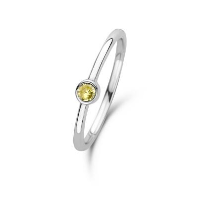 Violet Hamden Venus November 925 Sterling Zilveren Ring Met Geboortesteen VH330007NOV